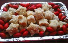 Prăjituri - steluțe cu semințe de susan