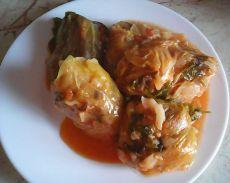 Sarmale cu orez, nuci și migdale – Rețetă de post