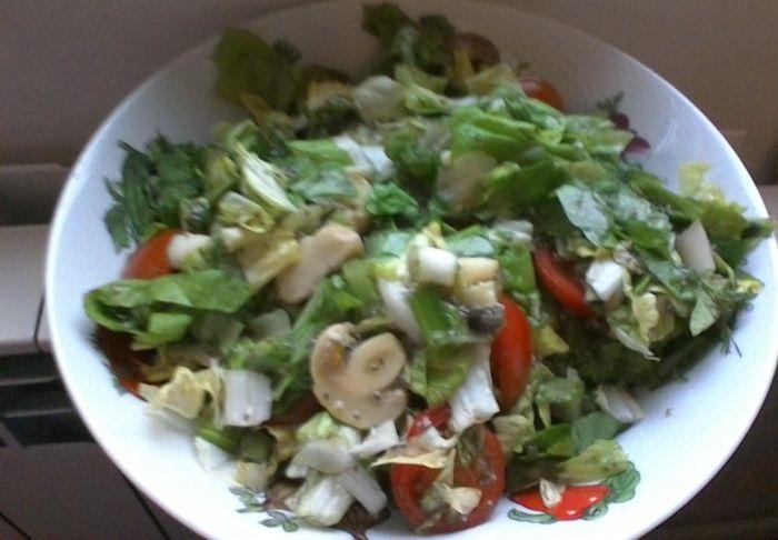 salata cu seminte de chia