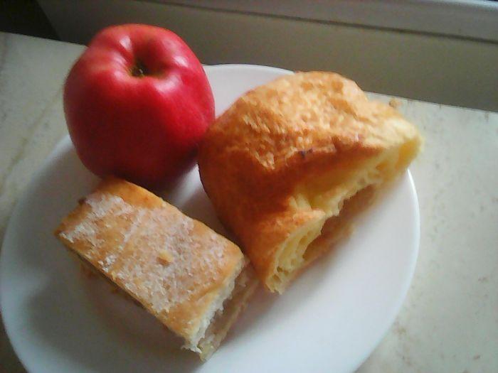 Plăcintă cu mere şi nuci