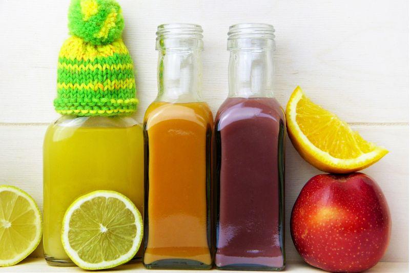 Sucuri din fructe şi legume