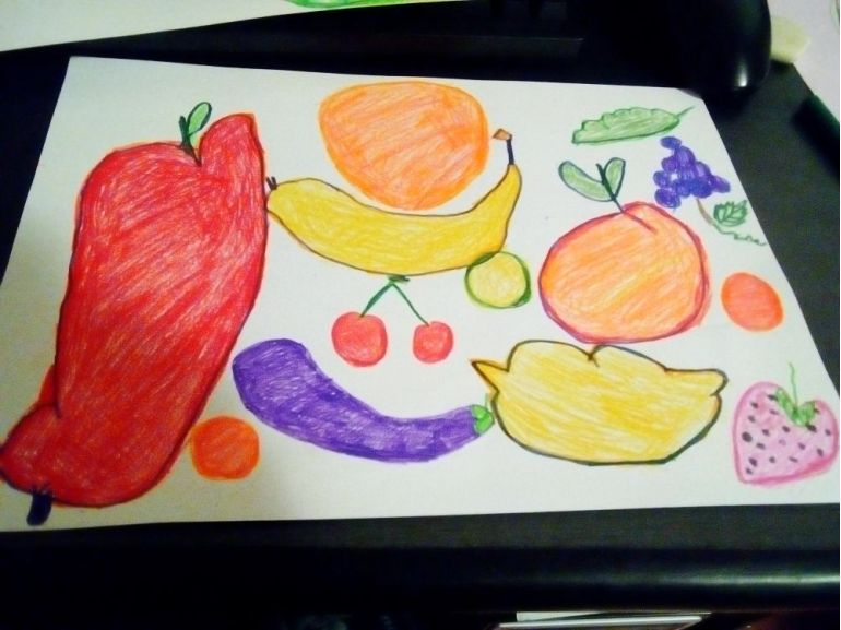 Fructe și legume desenate