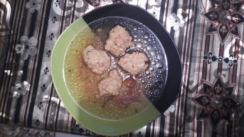 Perișoare cu tradiționale cu carne de pasăre