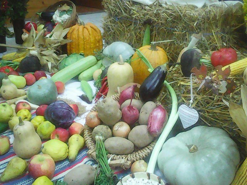 Decor legume și dovleci