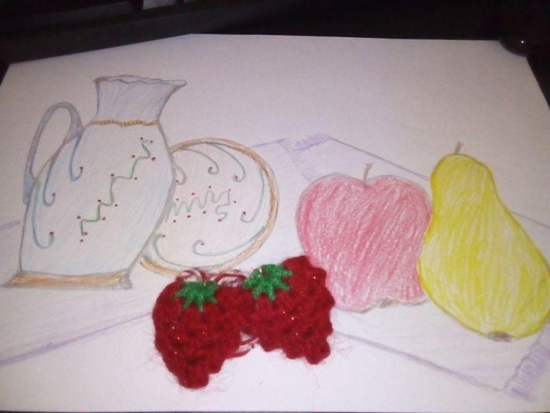 Căpșuni croșetate