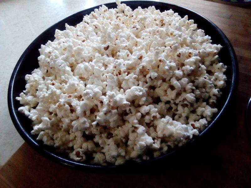 Floricele din porumb - popcorn