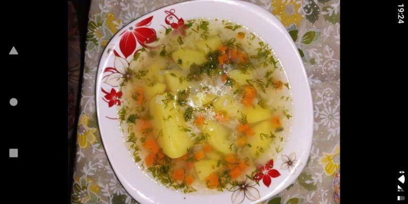 Ciorbică de legume cu broccoli