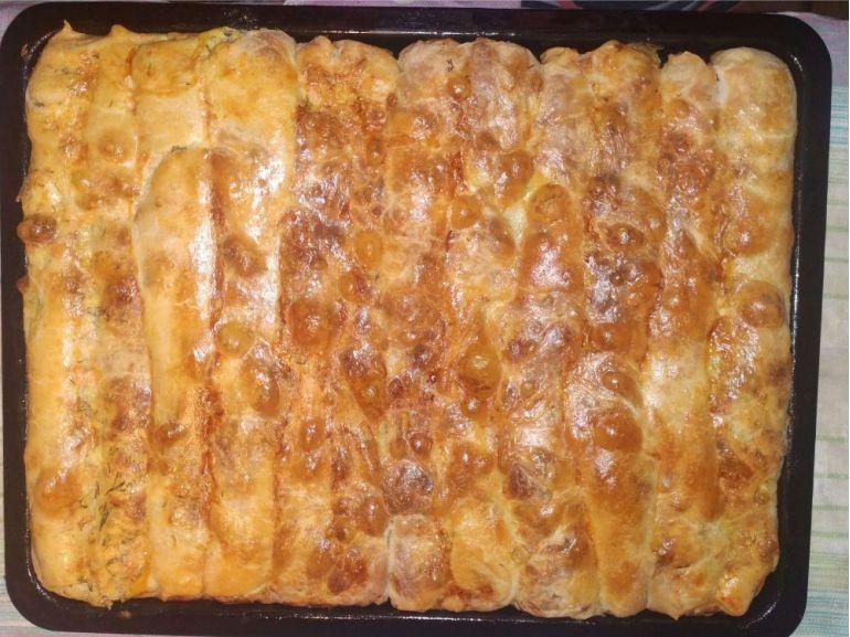 Plăcinte cu brânză și mărar