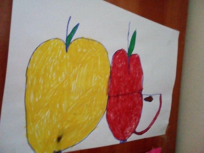 Fructe desenate - mere