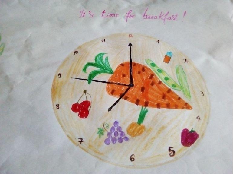 Ces cu fructe și legume - It's time for fruits!