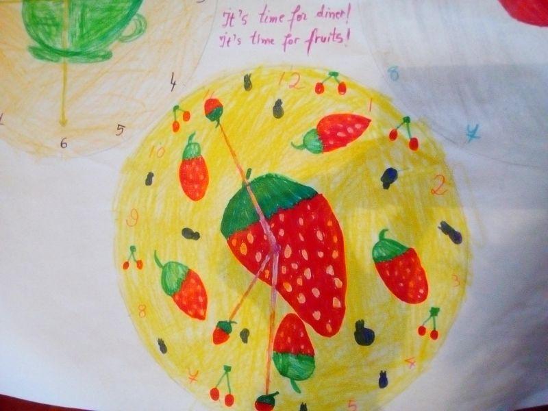 It's time for fruits! - Este timpul pentru fructe!