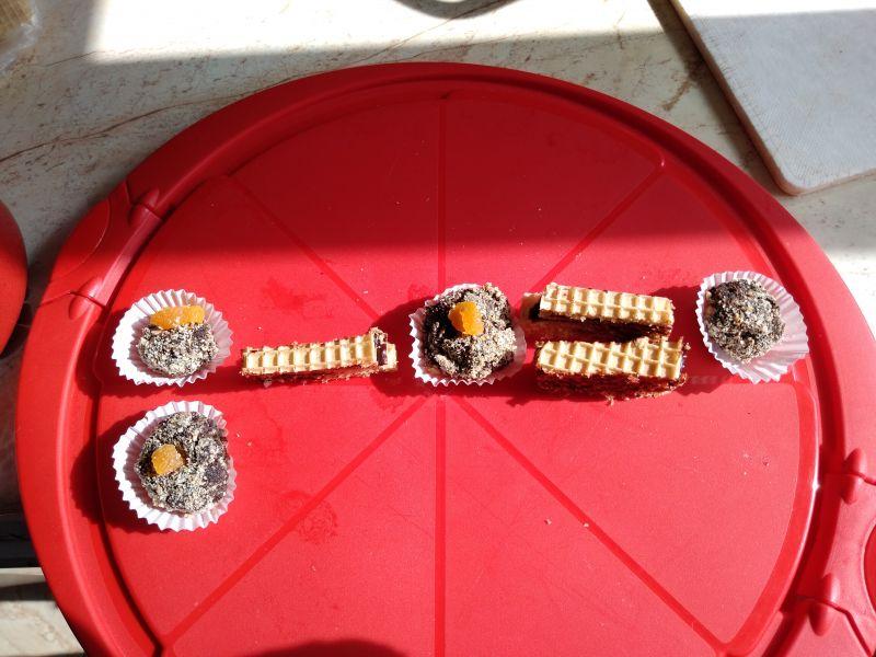 Scăderea cu bomboane din pudră de roșcove