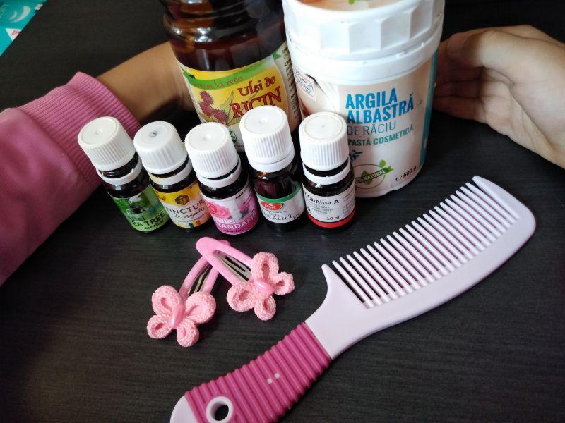Argilă și uleiuri esențiale pentru măști de îngrijirea părului