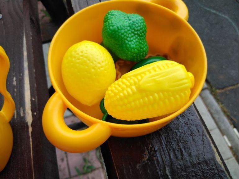 Fructe și legume în crăticioară - joc pentru copii
