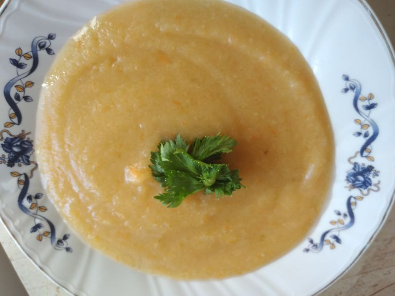 Supa cremă de legume