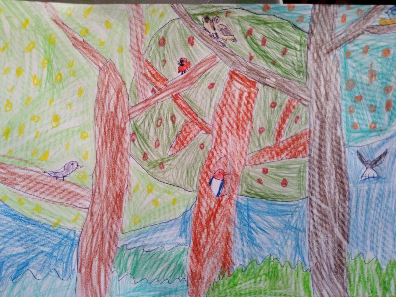 Împărăteasa și pasărea Blue Jay - povestioara pentru copilași
