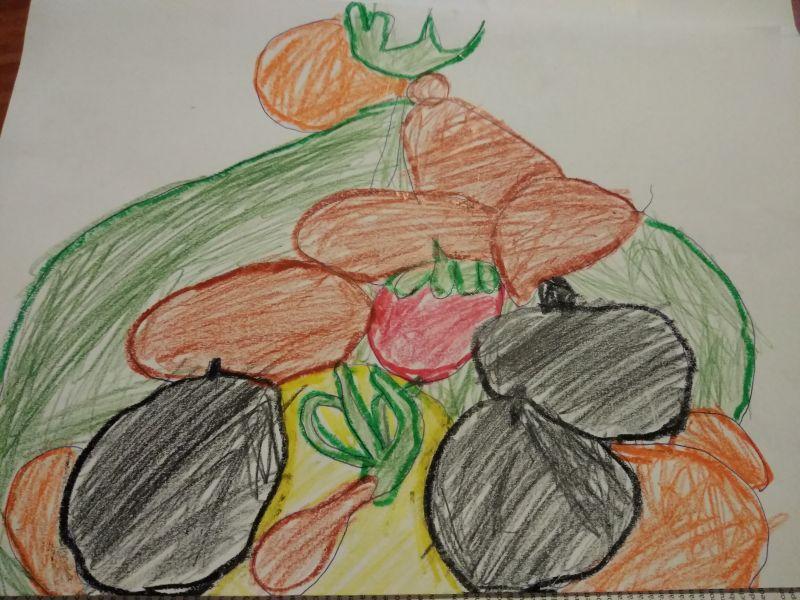 Prima mea insulă cu fructe și legume