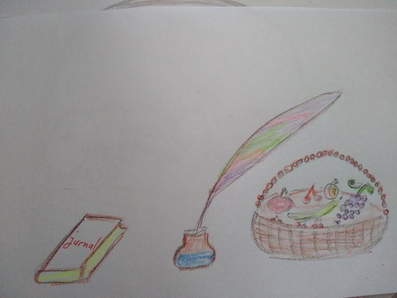 Pana și coșul cu fructe