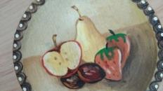 Suvenir – farfurioara cu fructe