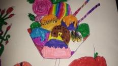 Înghețata copiilor - activitate creativă