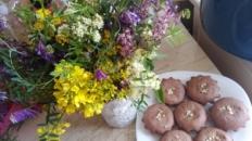 5 varietăți de brioșe cu fructe uscate – muffins
