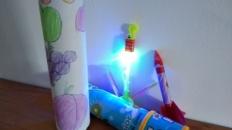 Caleidoscop cu fructe – jucării pentru copii