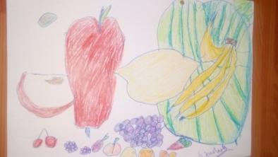 Fructe – les fruits, fiche de travail