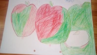 Fructe desenate la 5 ani