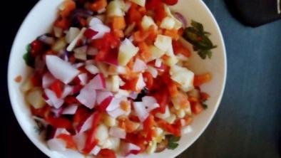 Salată de cartofi cu ridichii
