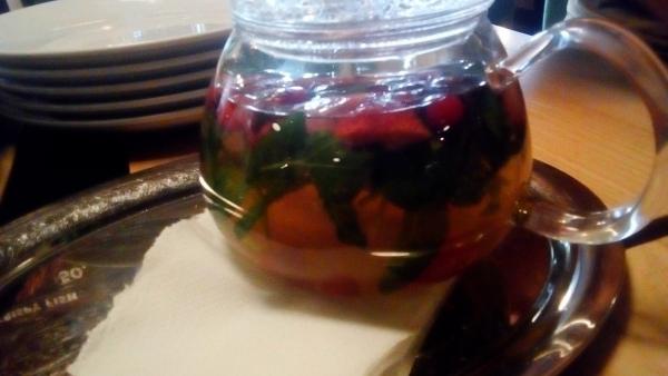 Ceai cu fructe și plante medicinale
