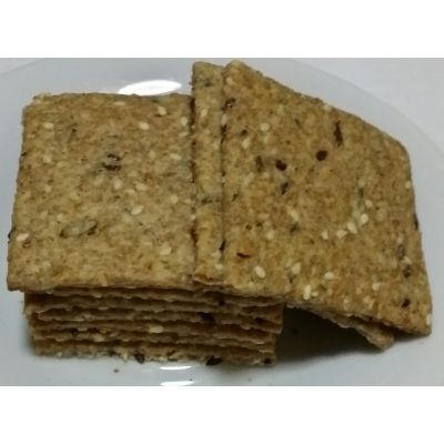 Biscuiți cu semințe și chimen - 500 grame