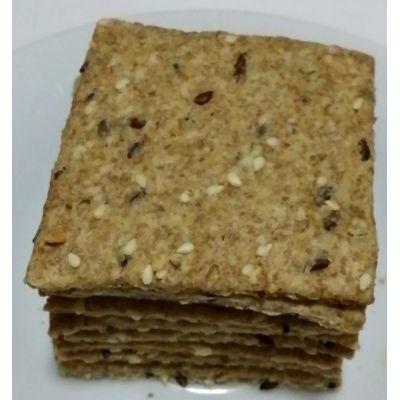 Biscuiți cu semințe și oregano - 500 grame