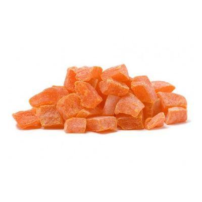 Papaya confiată cuburi - 500 grame