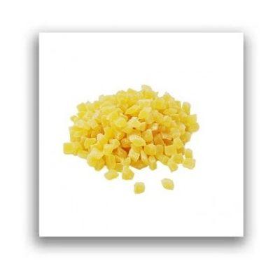 Ananas confiat cuburi - 100 grame
