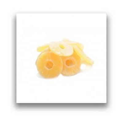 Ananas confiat rondele - 250 grame