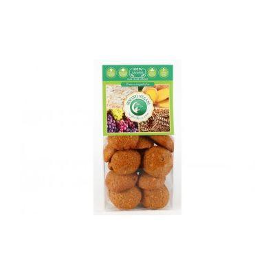 Biscuiti vegani cu ghimbir si cocos (fara zahar adaugat) 150g