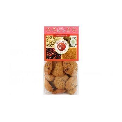 Biscuiti vegani cu merisor si cocos (fara zahar) 150g