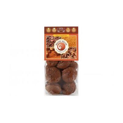 Biscuiti vegani cu mirodenii si cacao 150g