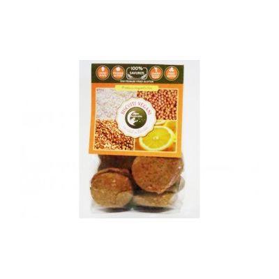 Biscuiti vegani cu naut si lamaie (fara zahar/gluten) 150g