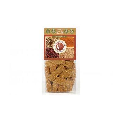 Crackers vegani cu măsline kalamata 125 g