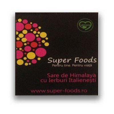 Sare roz de Himalaya cu Ierburi Italienesti 300g