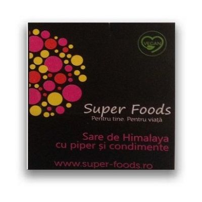 Sare roz de Himalaya cu piper si condimente 300g