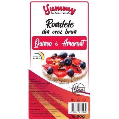 Rondelele din Orez Brun cu Quinoa & Amarant 60g